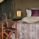 Pakulala Safari Camp Ratpanat interior tienda